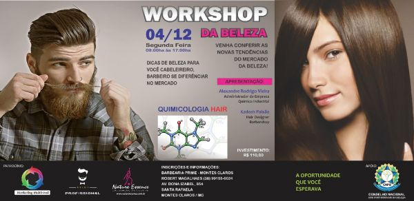 Workshop Barbearia Prime Montes Claros 04/12